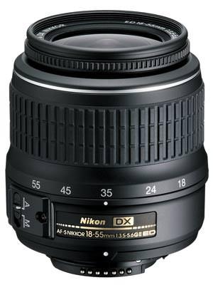 Nikon 18-55mm G II ED