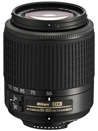 Nikon AF-S DX 55-200 f/4-5.6 G ED