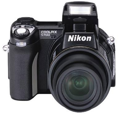 Nikon Coolpix 5700 Front view