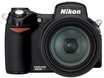 Nikon Coolpix 8800 with VR announced
