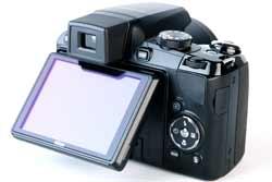 Nikon Coolpix P90 rear screen