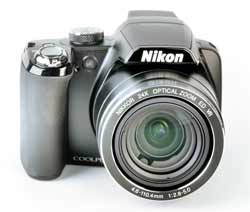 Nikon Coolpix P90 front view