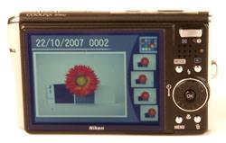 Nikon Coolpix S51c LCD