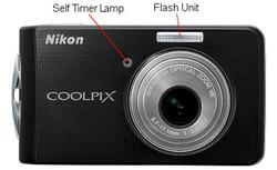 Nikon Coolpix S520 Front