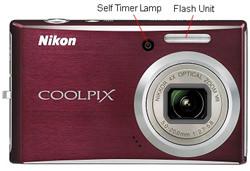Nikon Coolpix S610 Front