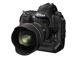 Nikon D3 Angle