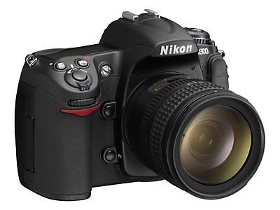 Nikon D300 front