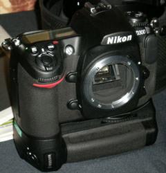 Nikon D300 front image