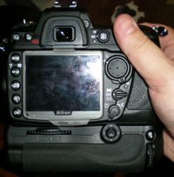 Nikon D300 hand held