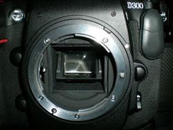 Nikon D300 Mirror