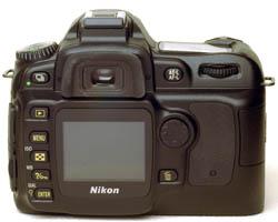 Nikon D50 back
