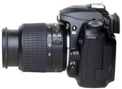 Nikon D50 side