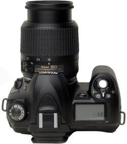 Nikon D50 top