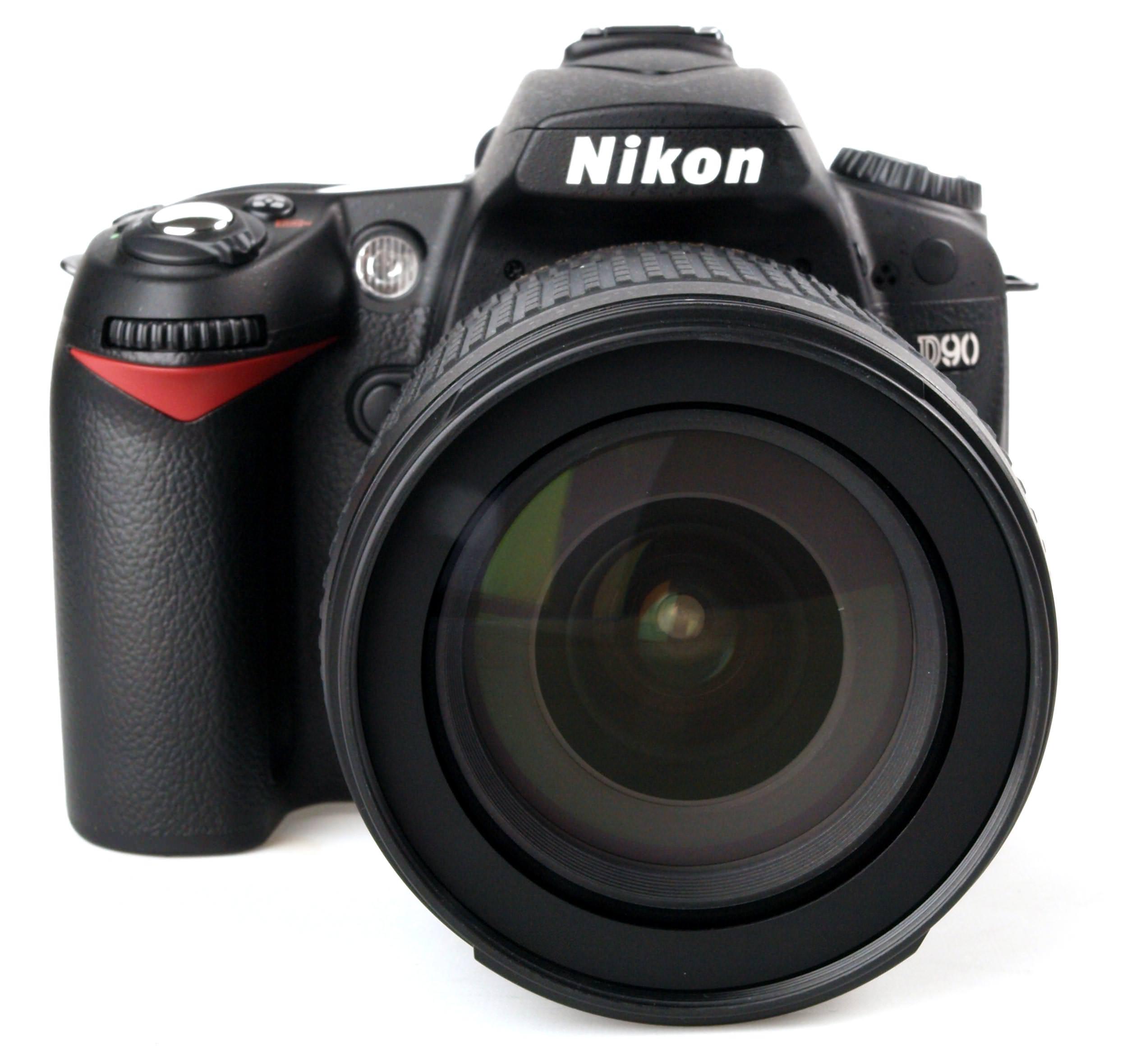 Nikon D90 front view