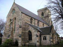 Church photo taken with Nikon S7c
