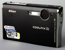 Nikon S7c from the front