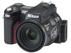 Nikon announce 8.0 million pixel COOLPIX 8700