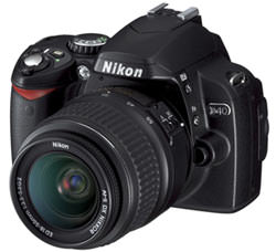 Cashback with purchases of Nikon D40