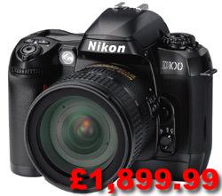 Nikon D100 UK price