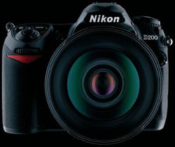 Free Capture NX with purchase of Nikon D200