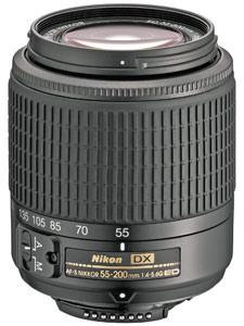 Nikon introduce AF-S DX Zoom-Nikkor 55-200mm