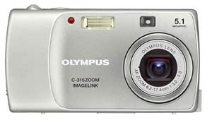 Olympus C-315 Zoom announced