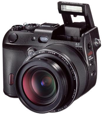 Olympus C-8080 WIDE ZOOM - 8 megapixel prosumer camera
