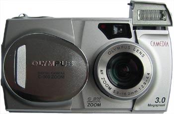 Olympus Camedia C-300 review