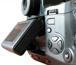 Olympus E-20 LCD