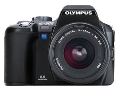 Olympus E-500 firmware update available