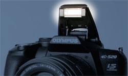 Olympus E-520 flash