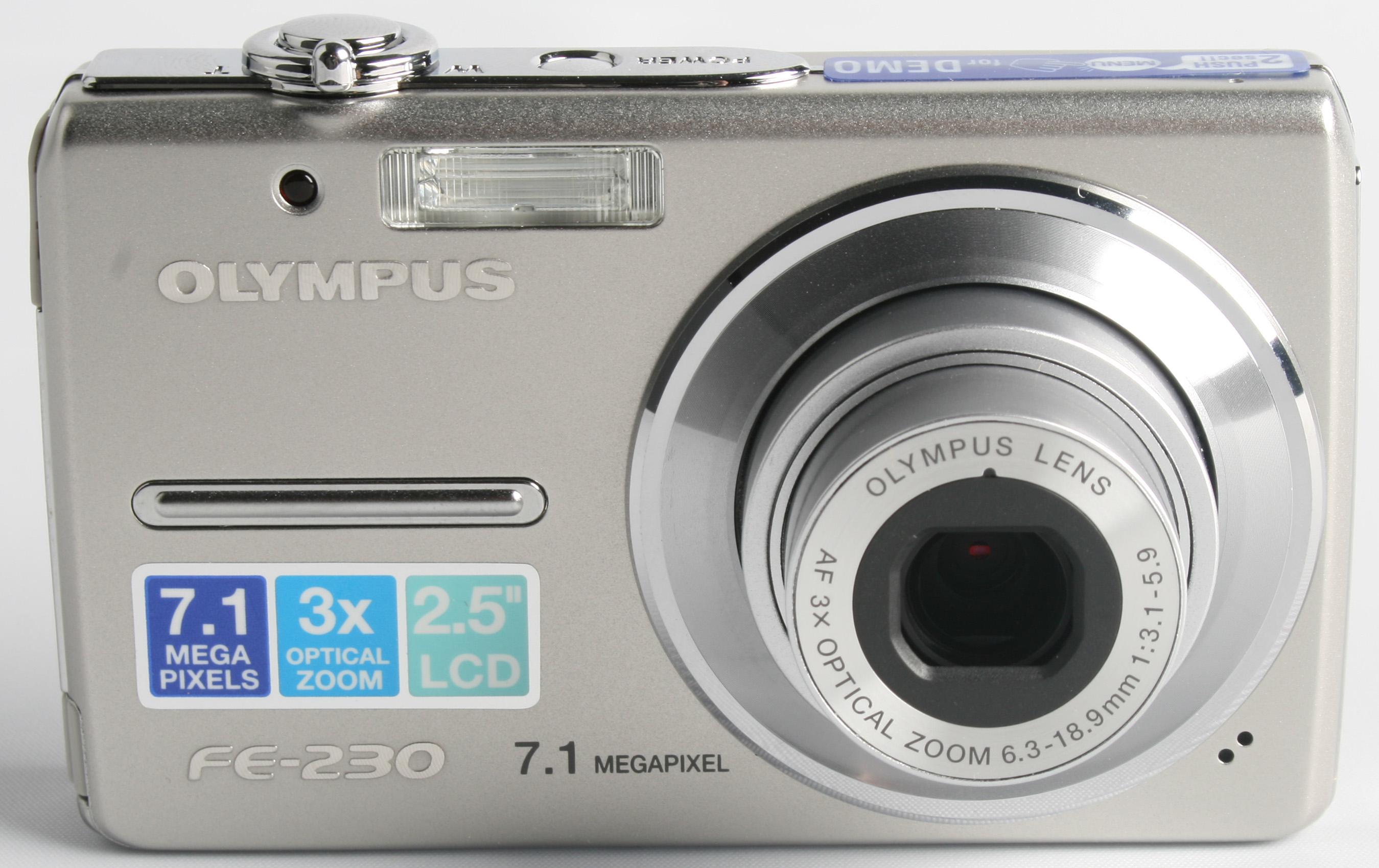 olympus fe230 digital camera
