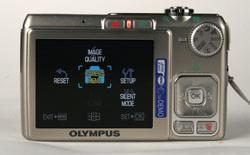 Olympus FE-280 Screen