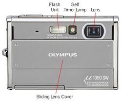 Olympus Mju 1050SW Front