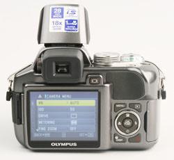 Olympus SP550UZ LCD