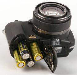 Olympus SP-560 UZ batteries