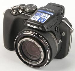 Olympus SP-560 UZ front left