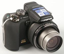Olympus SP-560UZ front right
