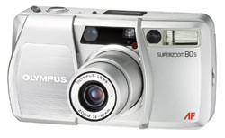 Olympus Superzoom 80S 35mm camera