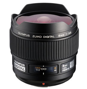 Olympus ZUIKO DIGITAL ED 8mm Fisheye Lens announced