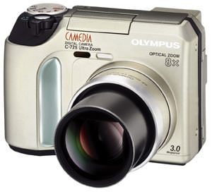 Olympus add C-725, C-765 and C-770 digital cameras to their range