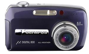 Olympus announce  [mju:] DIGITAL 800