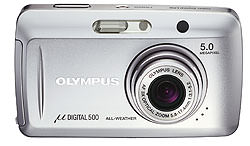 Olympus announce µ (mju)DIGITAL 500