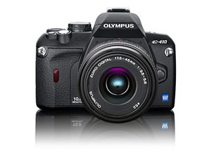 Olympus E-410, E-510 - two new DLSR bodies launched