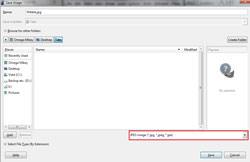 Save Image in GIMP