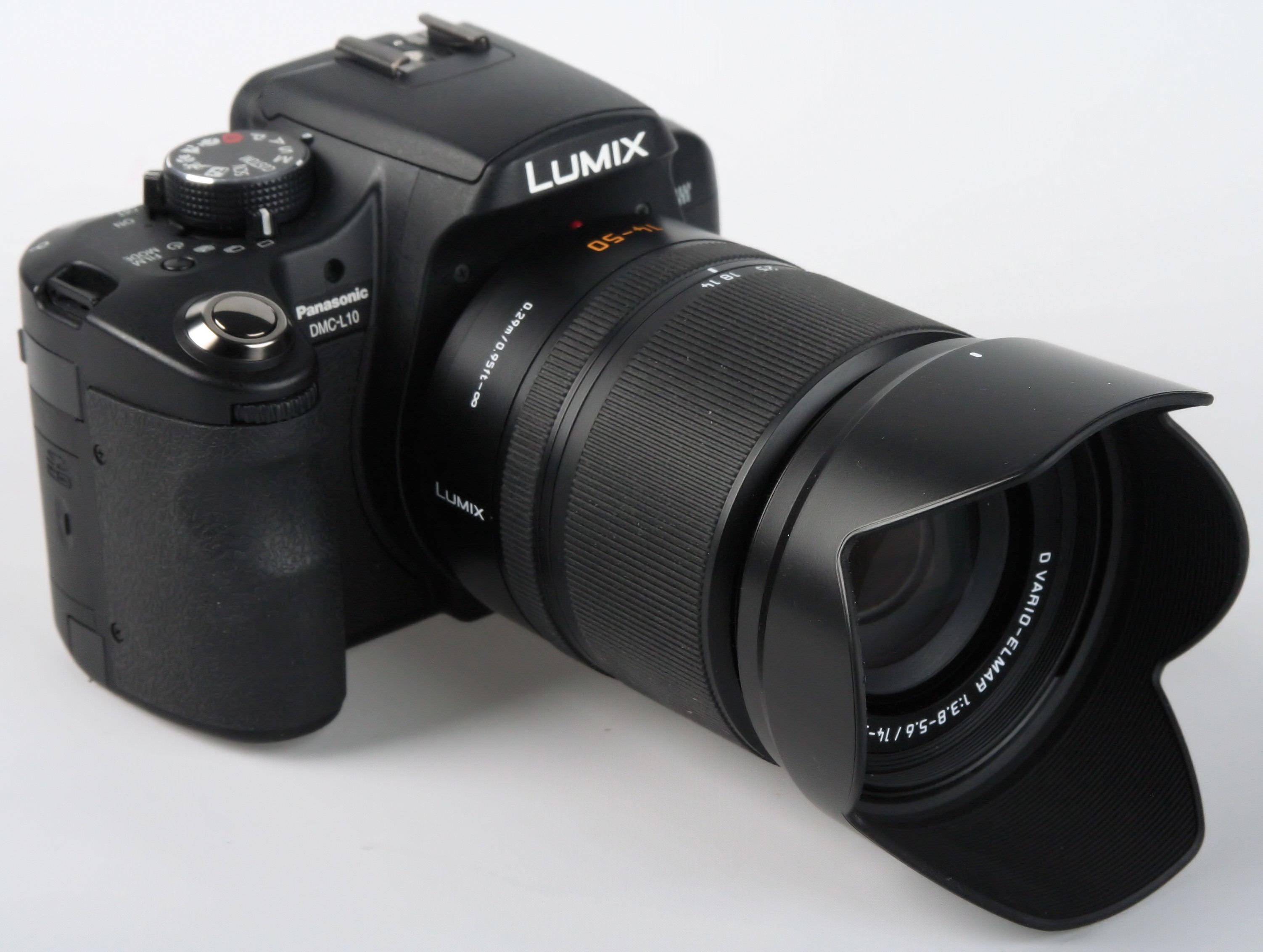 Panasonic DMC L10 Digital SLR Review