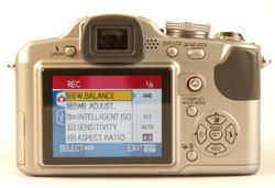 Panasonic DMC-FZ18 LCD