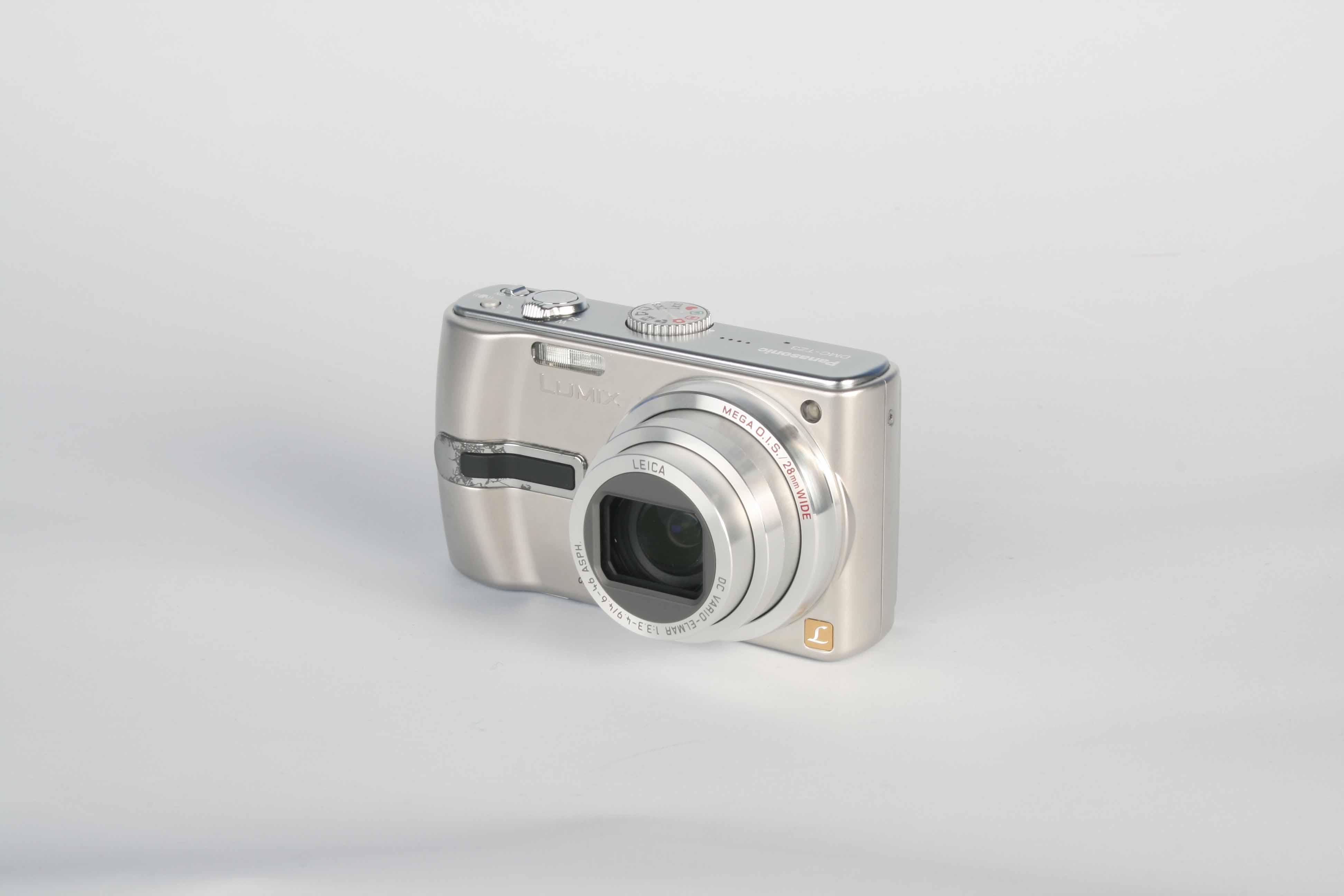 panasonic dmctz3 digital camera review