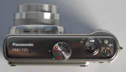 Panasonic TZ3 top view