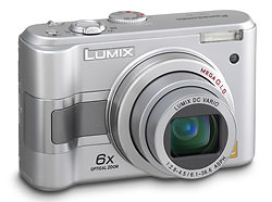 Panasonic Lumix DMC-LZ5 and LZ3 announced